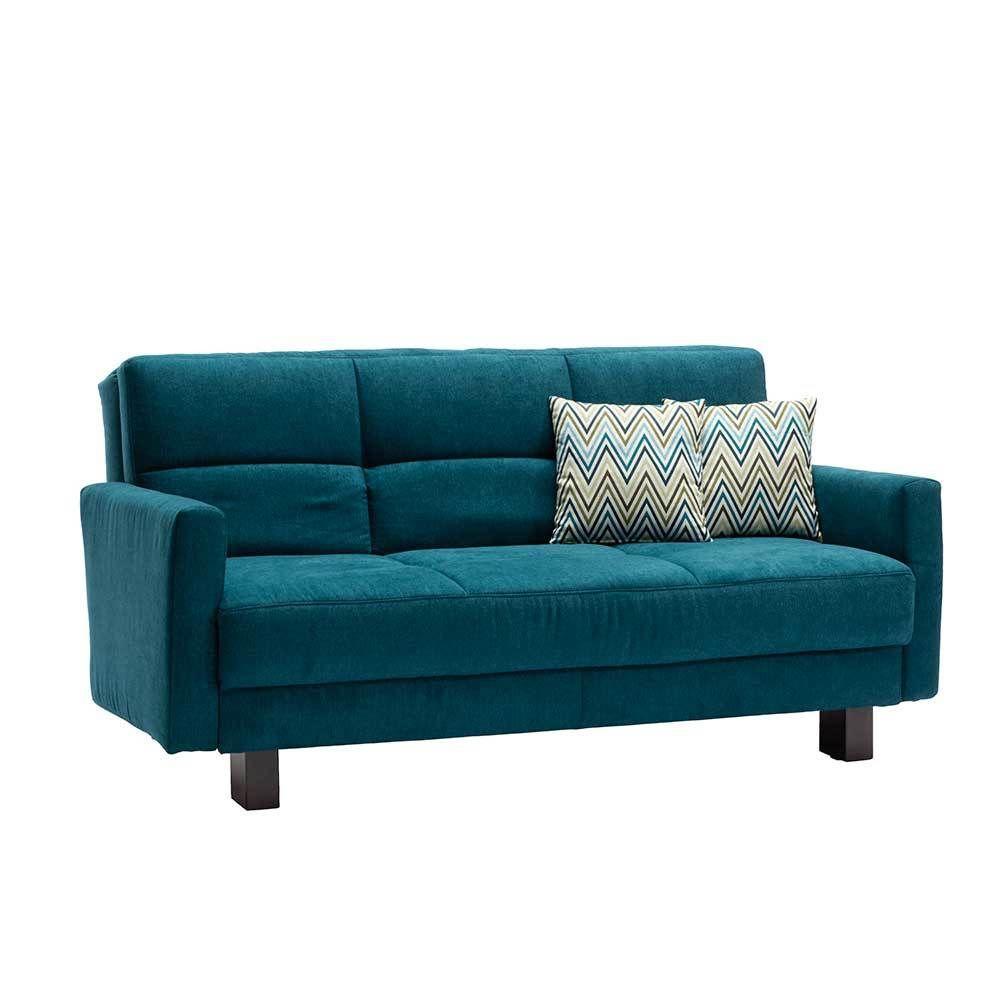Sofa In Petrol Schlaffunktion Jetzt Bestellen Unter:  Https://moebel.ladendirekt.de/wohnzimmer/sofas/schlafsofas/?uidu003dc2e87989 C4fc 53d8 Ba65   ...