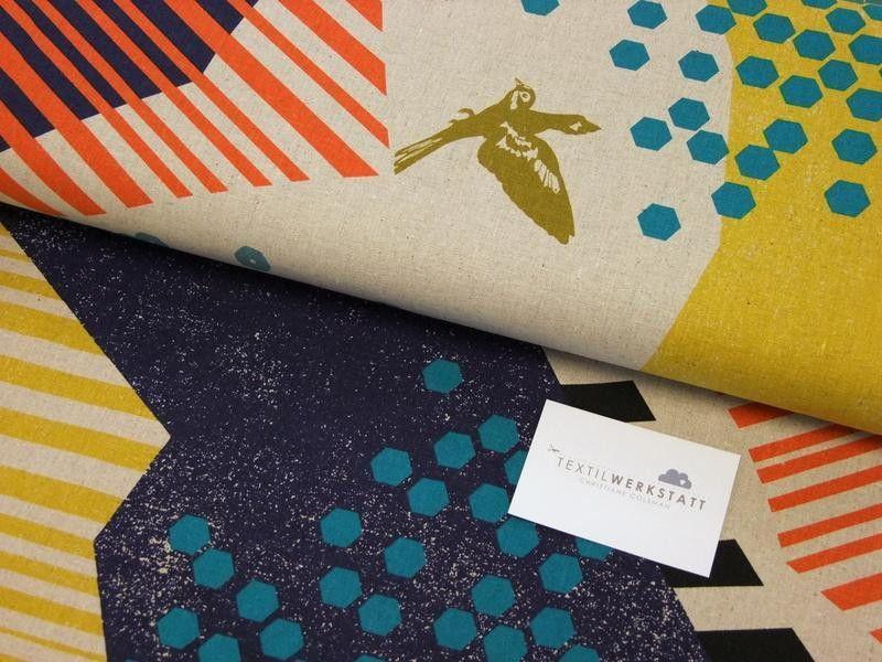 KOKKA // Echino // Landscape Canvas von Textilwerkstatt Christiane ...