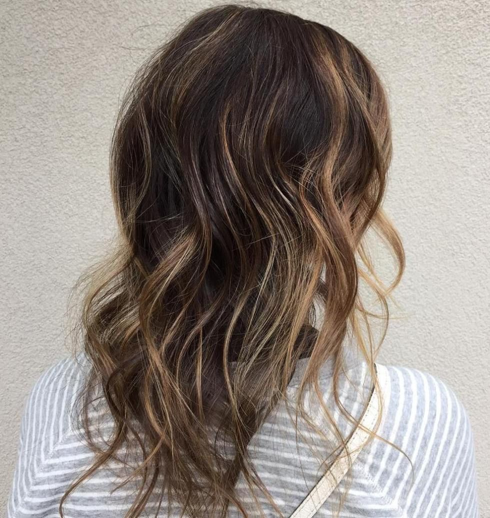 Long Hairstyle With Highlights For Thin Hair Hairstyles To Try