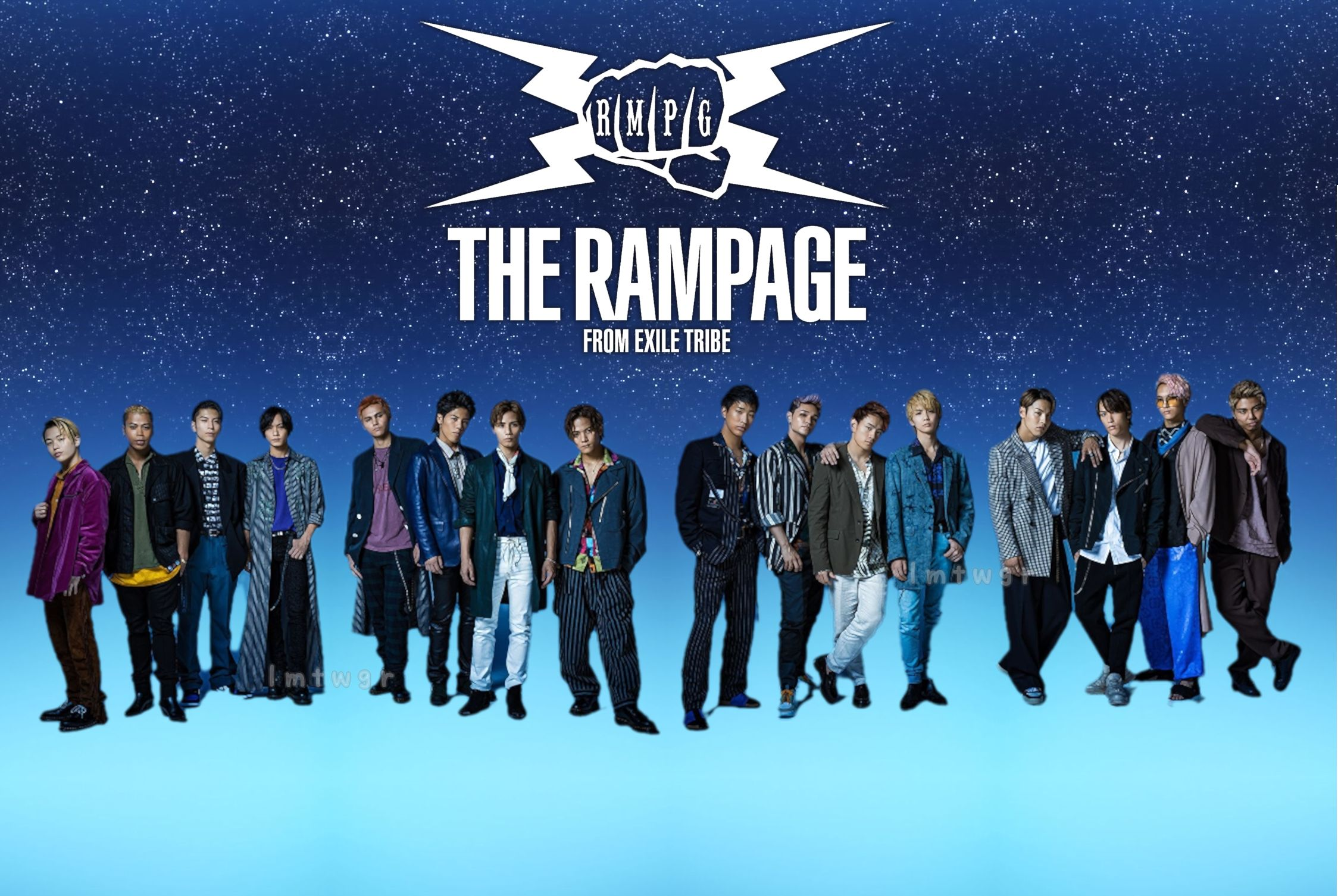 The Rampage From Exile Tribe Wallpaper In 2020 Rampage Tribe How To Make