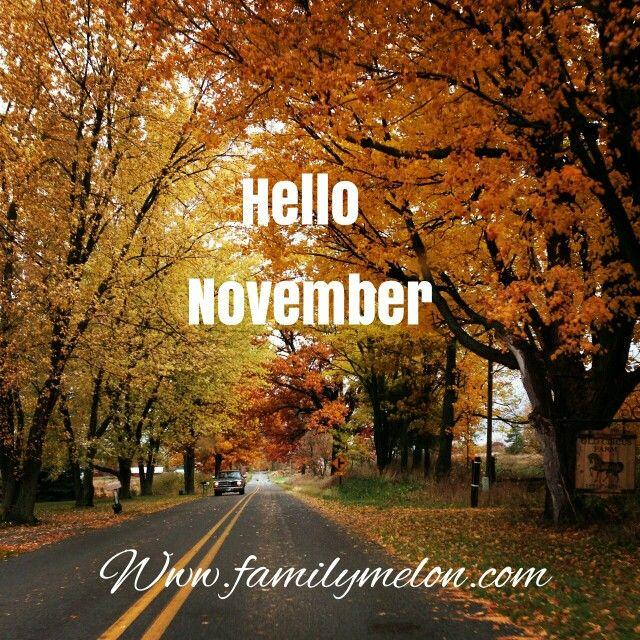 Charmant Hello November!
