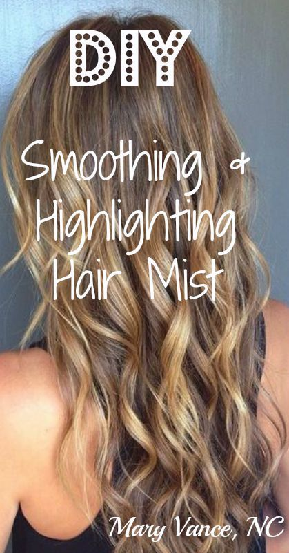 How To Make A Chemical Free Diy Hair Mist That Will Brighten