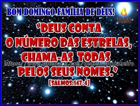 Deus Conta o Número das Estrelas!