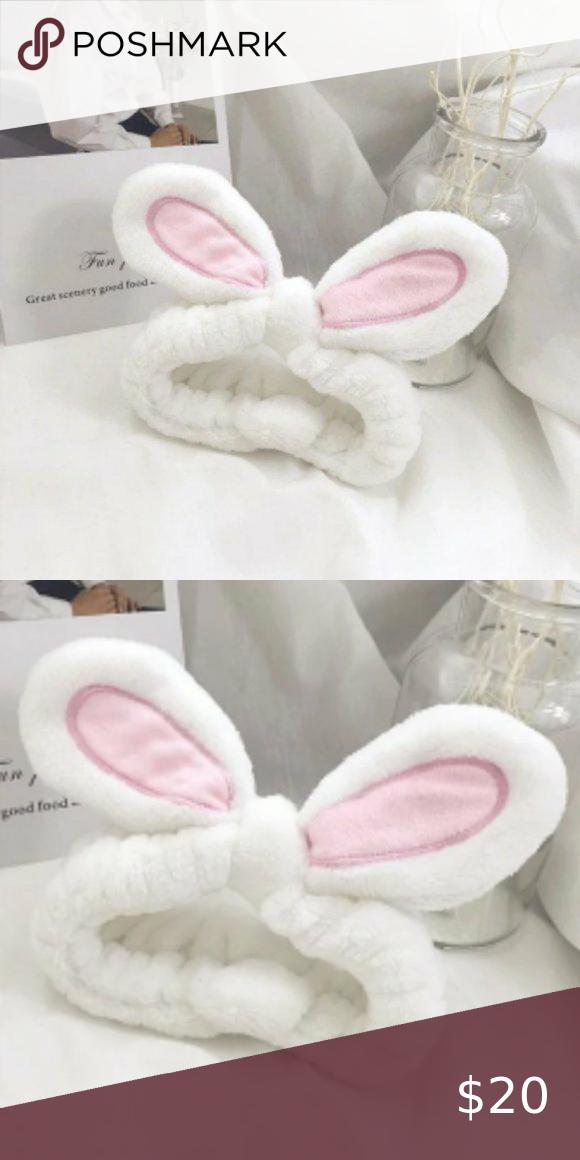 Nwt Fun Bunny Ears Headband In 2021 Bunny Ears Headband Easter Bunny Ears Headband Kids Hair Accessories