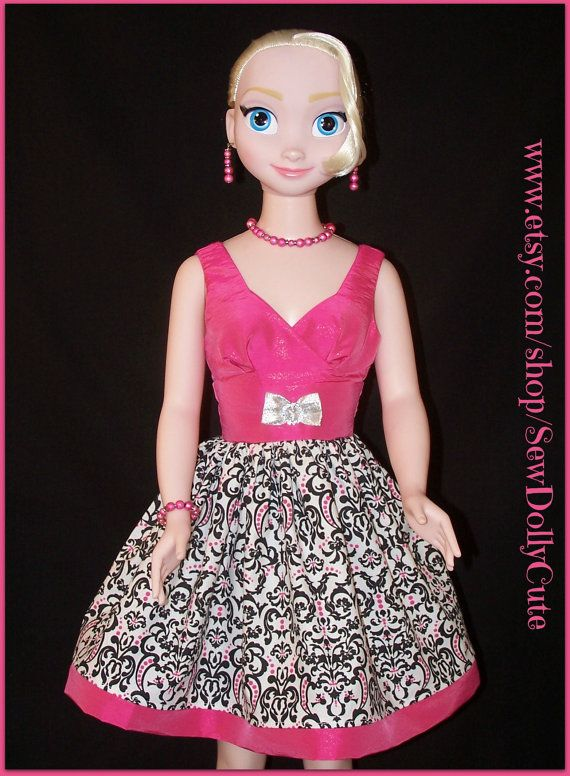 Pin de Sew Dolly Cute en Disney\'s Frozen Elsa & Anna | Pinterest