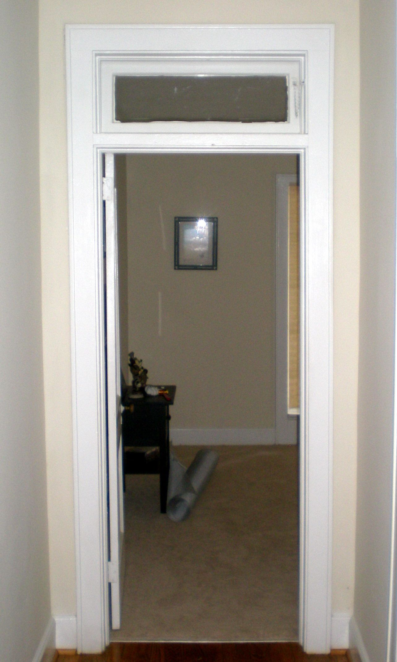 Transom Window That Opens, Would Be Nice And Practical Above Bedroom Doors