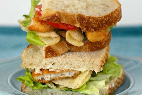 Fish and Chips Sandwiches: A fun, 20-minute dinner idea!