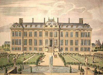 The North Prospect of Mountague House - James Simon c1715