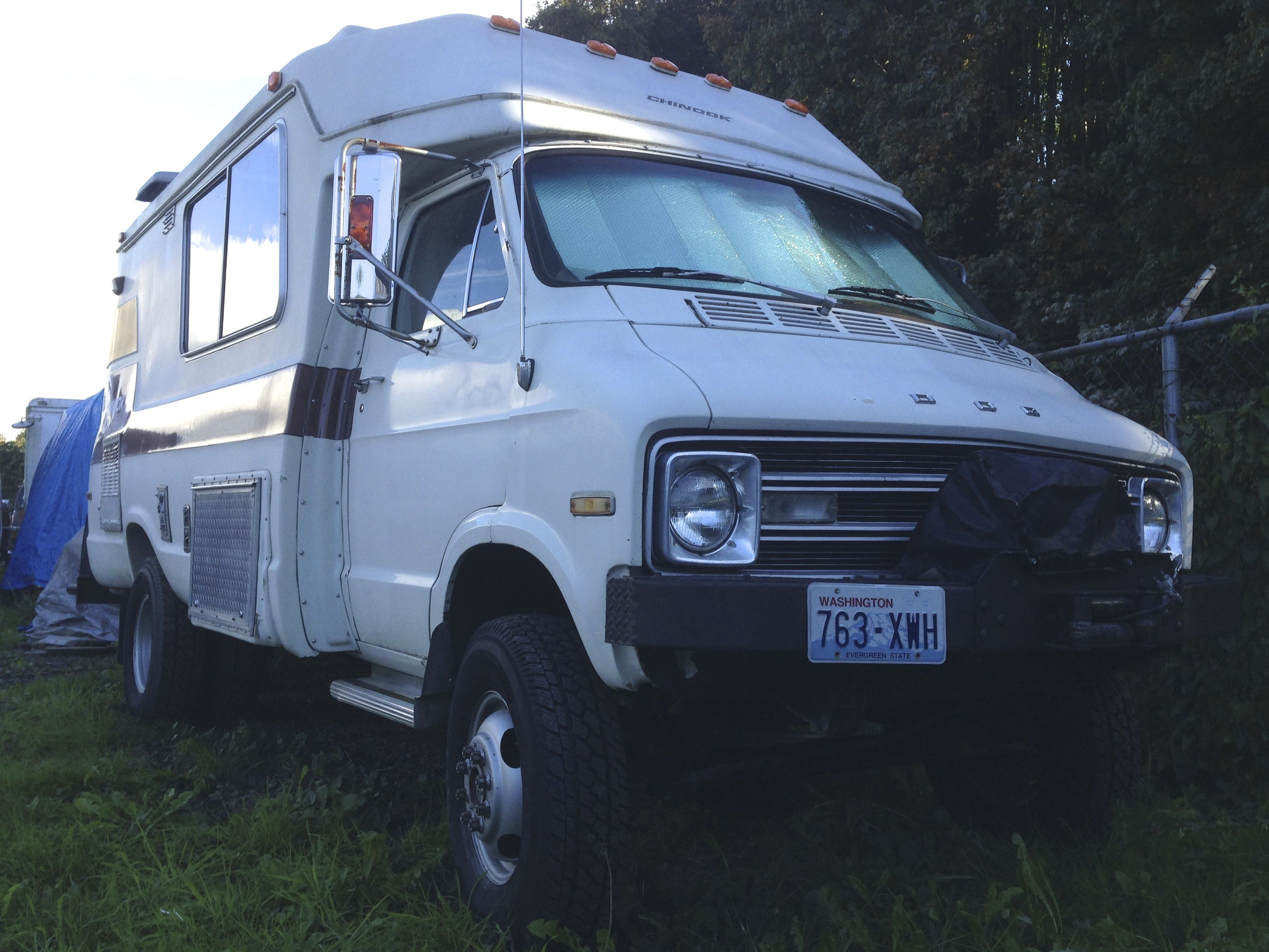 Campers For Sale In Louisiana >> 1977 chinook | 4x4 rv | Pinterest | Chinook rv, Van camping and Rv