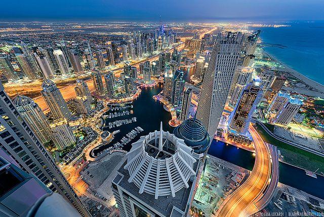 Towering Dreams || Dubai UAE by blame_the_monkey, via Flickr