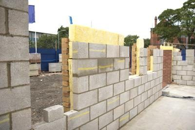 Concrete Block House Construction