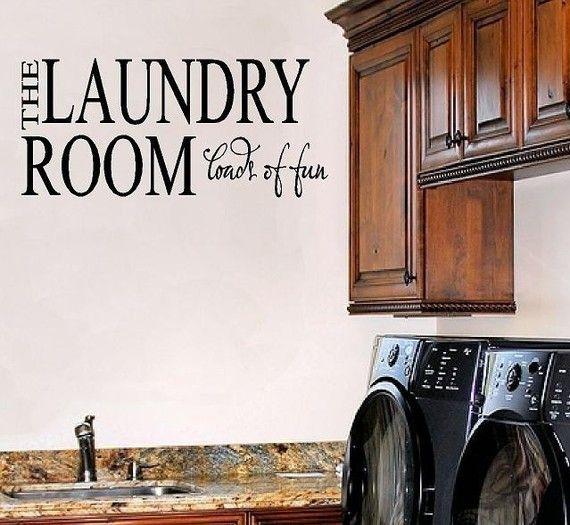 laundry room maybe?