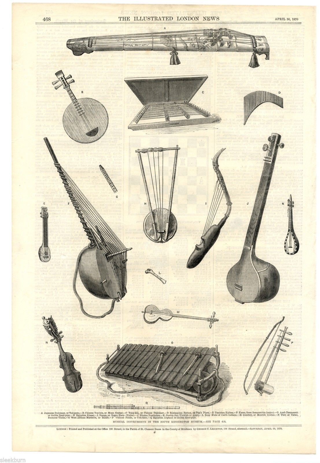 Instruments of Ancient Egypt & The Middle East | Ancient