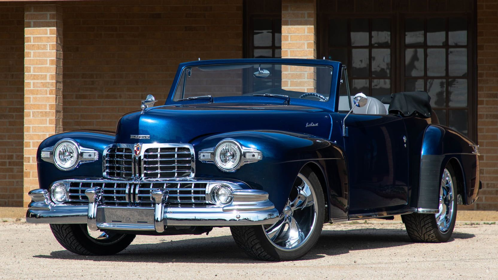 1947 Lincoln Continental Resto Mod presented as Lot S208