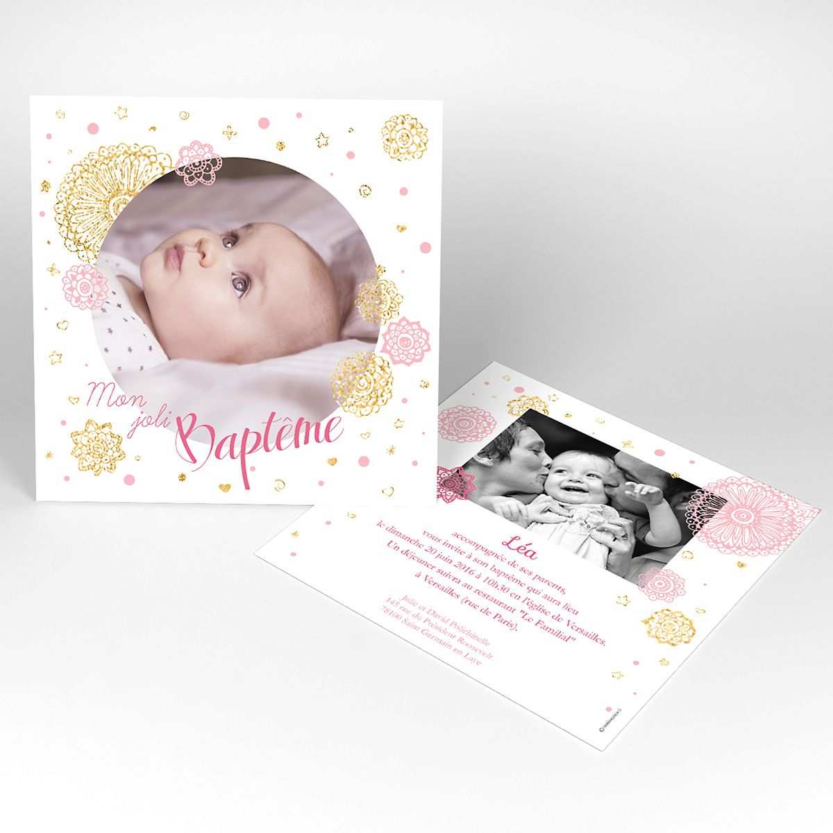Une Carte De Remerciement Cadeau Envoyez Un Polaroid Aimante De