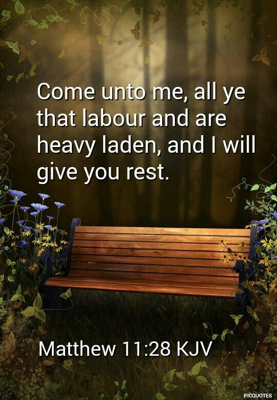 Image result for come to me all you who are weary kjv
