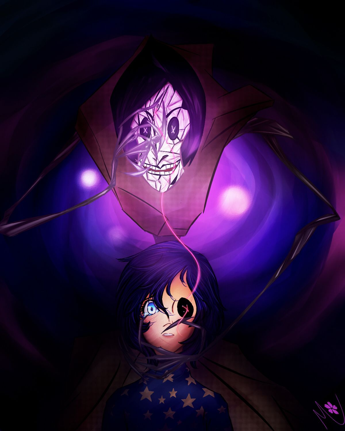 Mommy Loves You Coraline Other Mother Beldam Coraline Fanart Digital Art Other Mother Beldam Drawing Mommy Loves You Other Mother Coraline Coraline