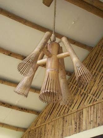 Resultado de imagem para bambu arte Jardines, escaleras, lámparas - lamparas para escaleras