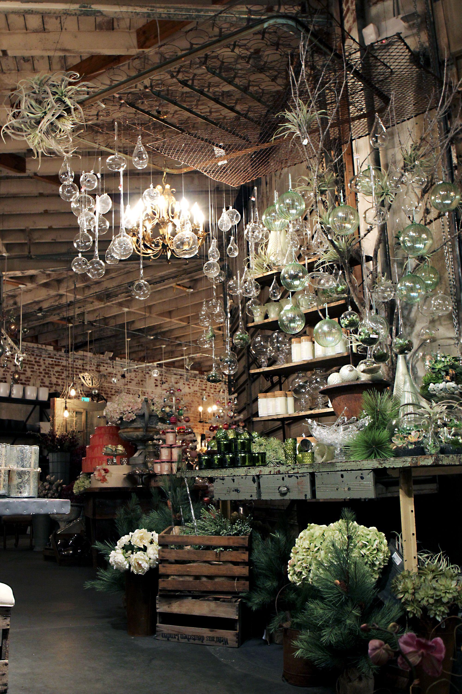 Visual Merchandising for Rolling Greens   Winter Terrarium ...