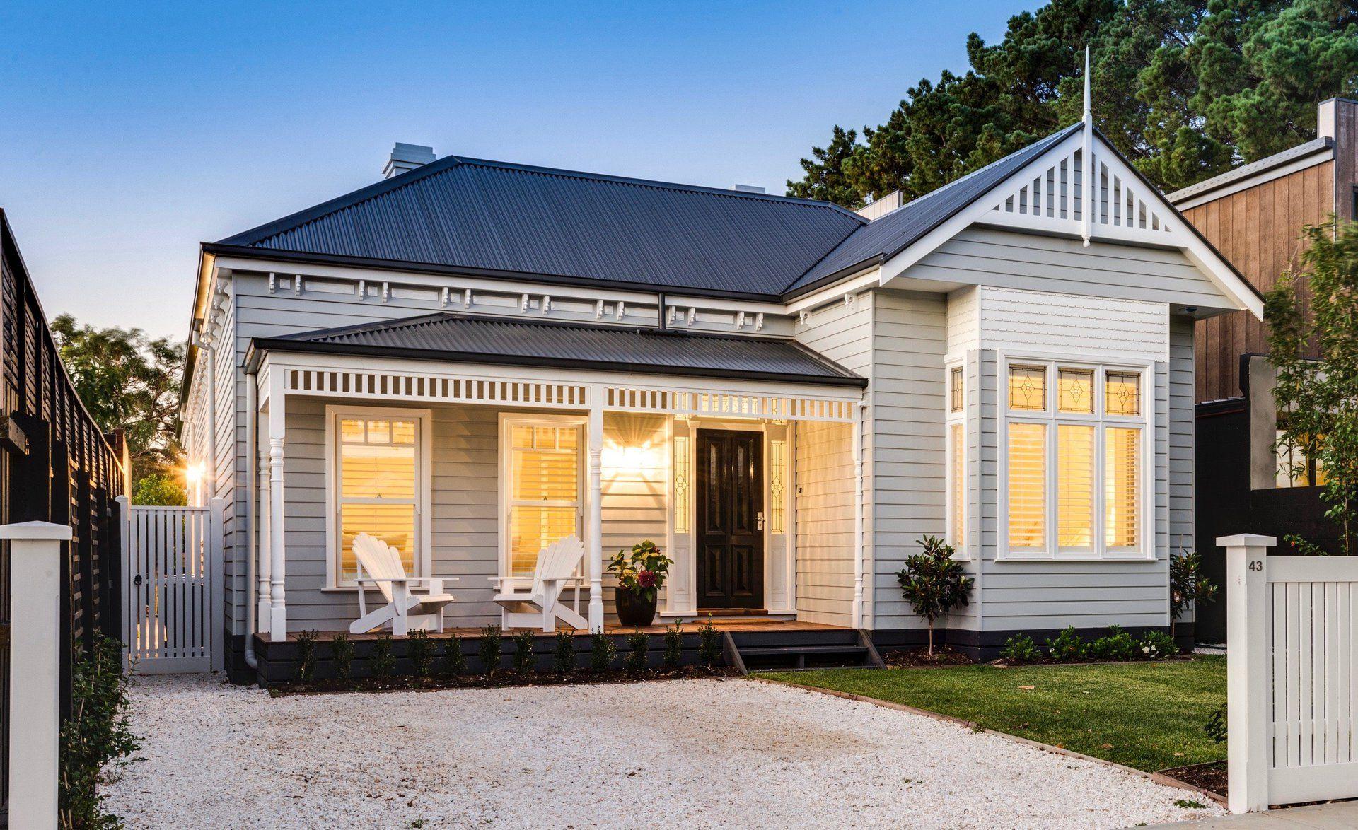 Image Result For Post War Weatherboard Houses Melbourne