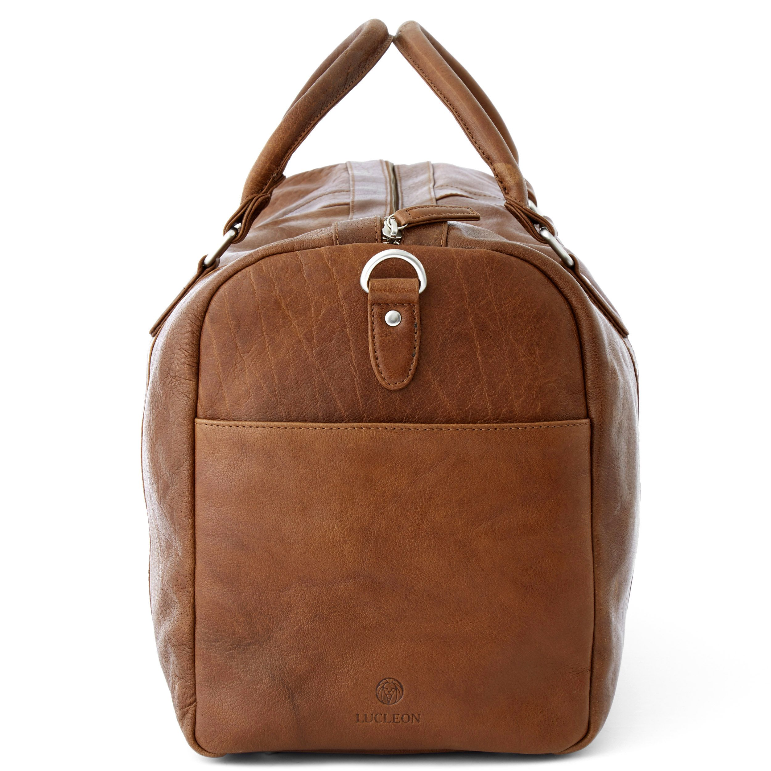 Photo of Tan California Duffel Bag | In stock! | Lucleon