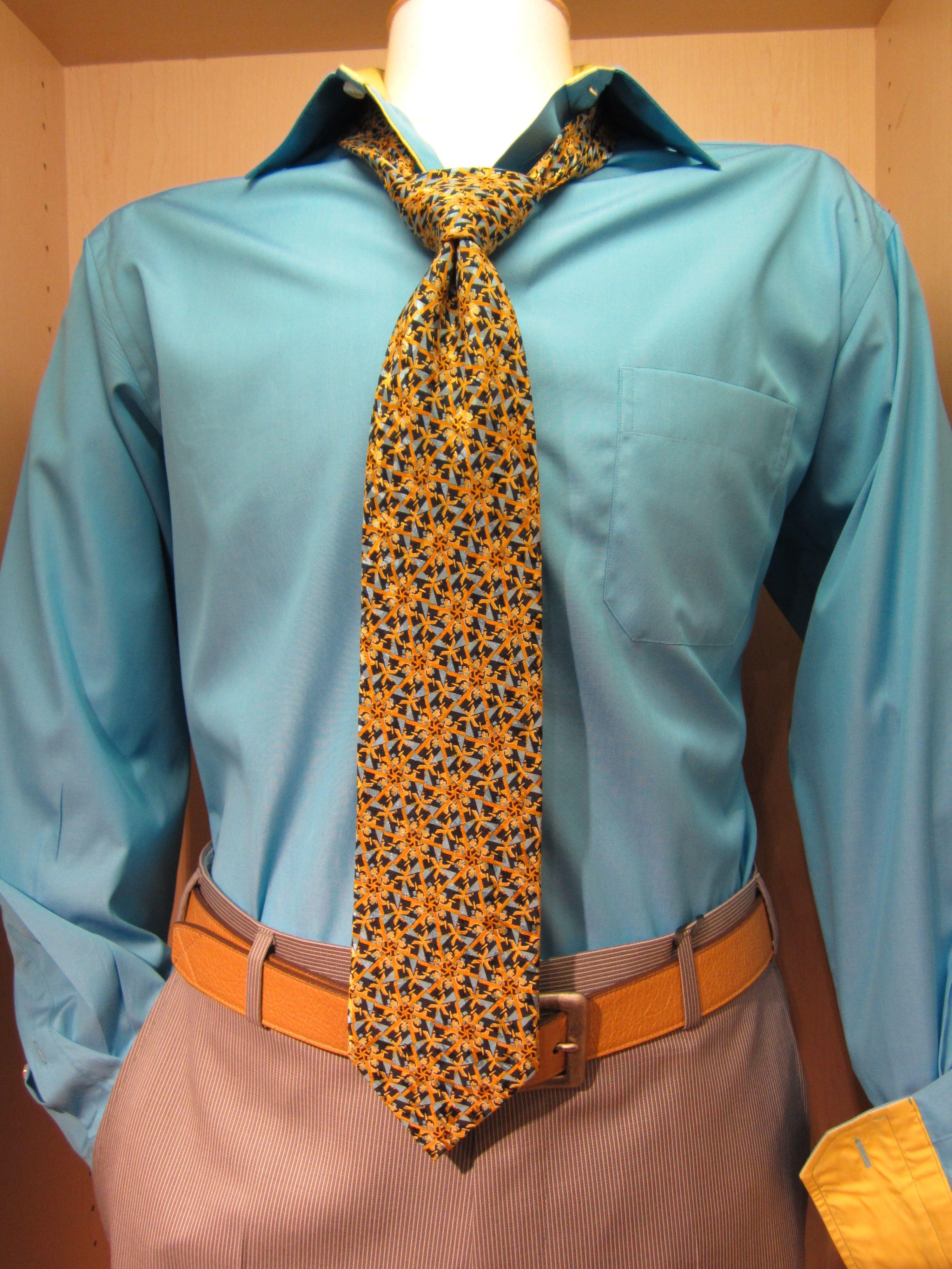 Eton Shirt, David's Master Collection Tie, Torino Belt