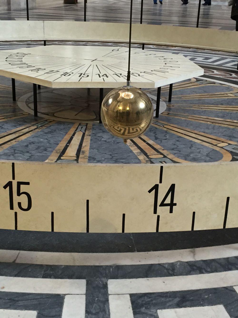 Pendulo de Foucault Panteon de Paris