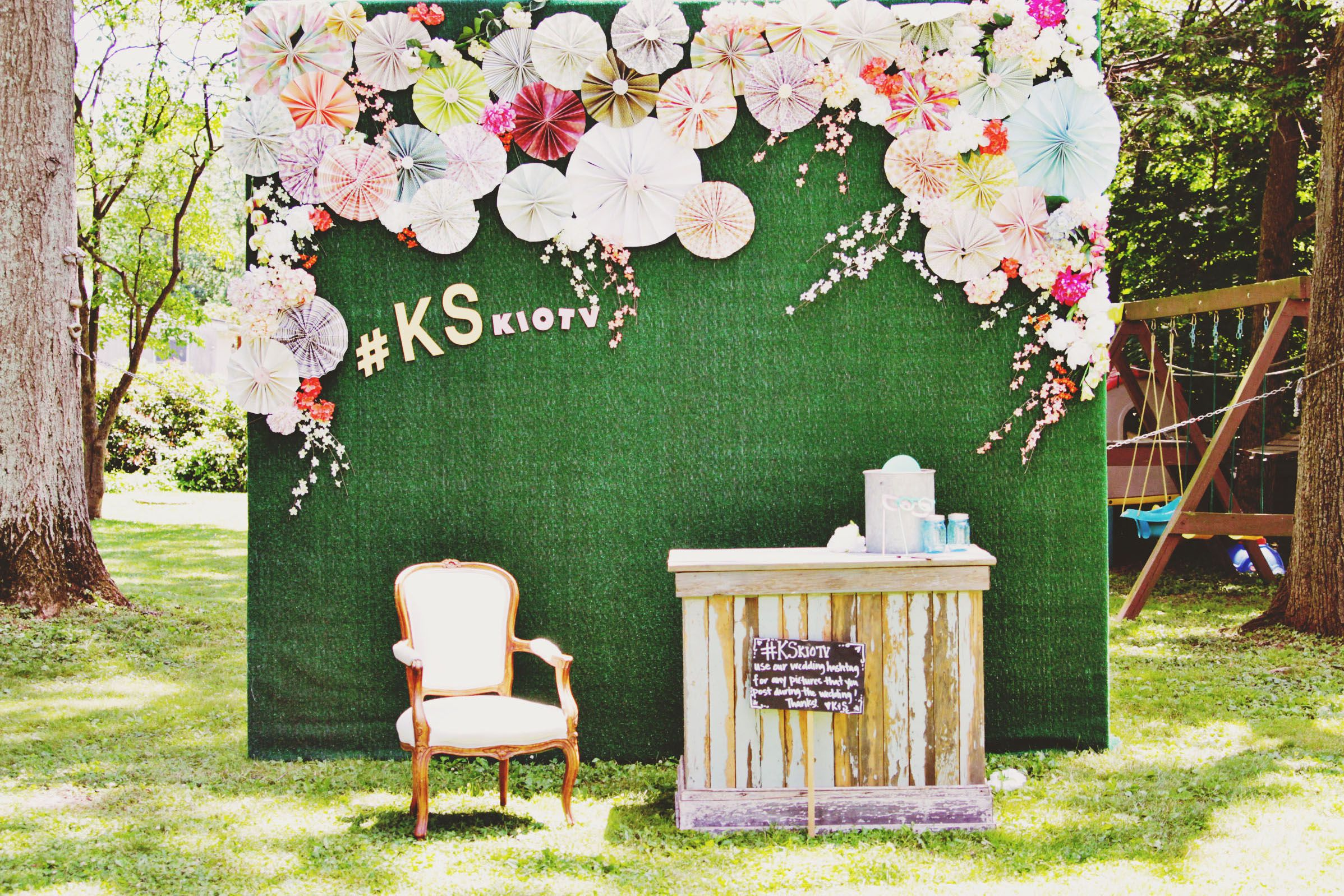 Diy Photo Booth Backdrop Knock It Off Wedding Ab Birthday