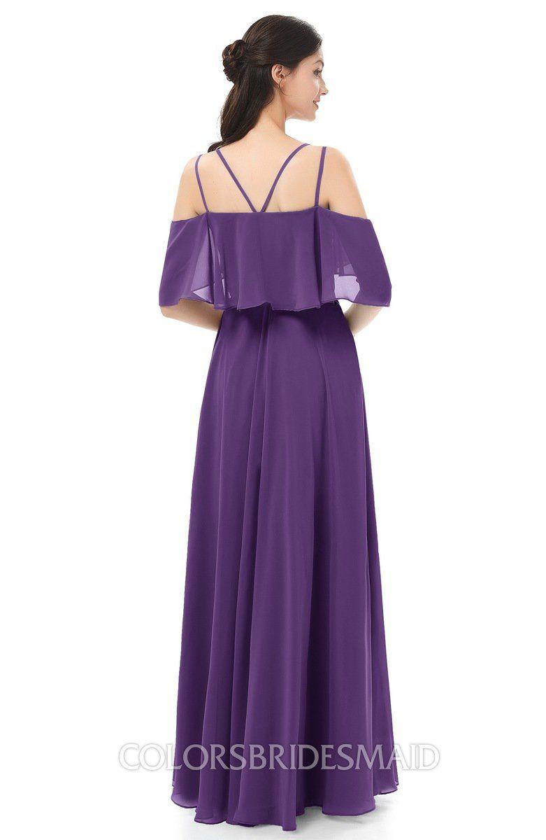 80fdc81cf60 ColsBM Jamie Dark Purple Bridesmaid Dresses - ColorsBridesmaid