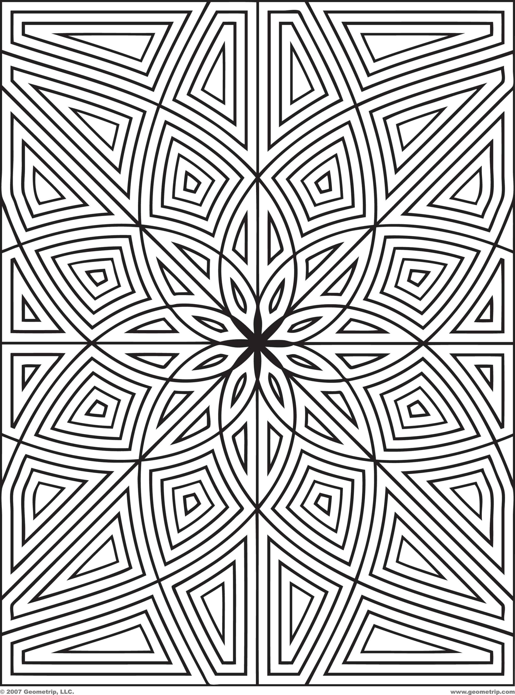 Geometrip Rects Set1 Img8 Jpg 2 222 3 000 Pixels Mandala Coloring Pages Pattern Coloring Pages Mandala Coloring