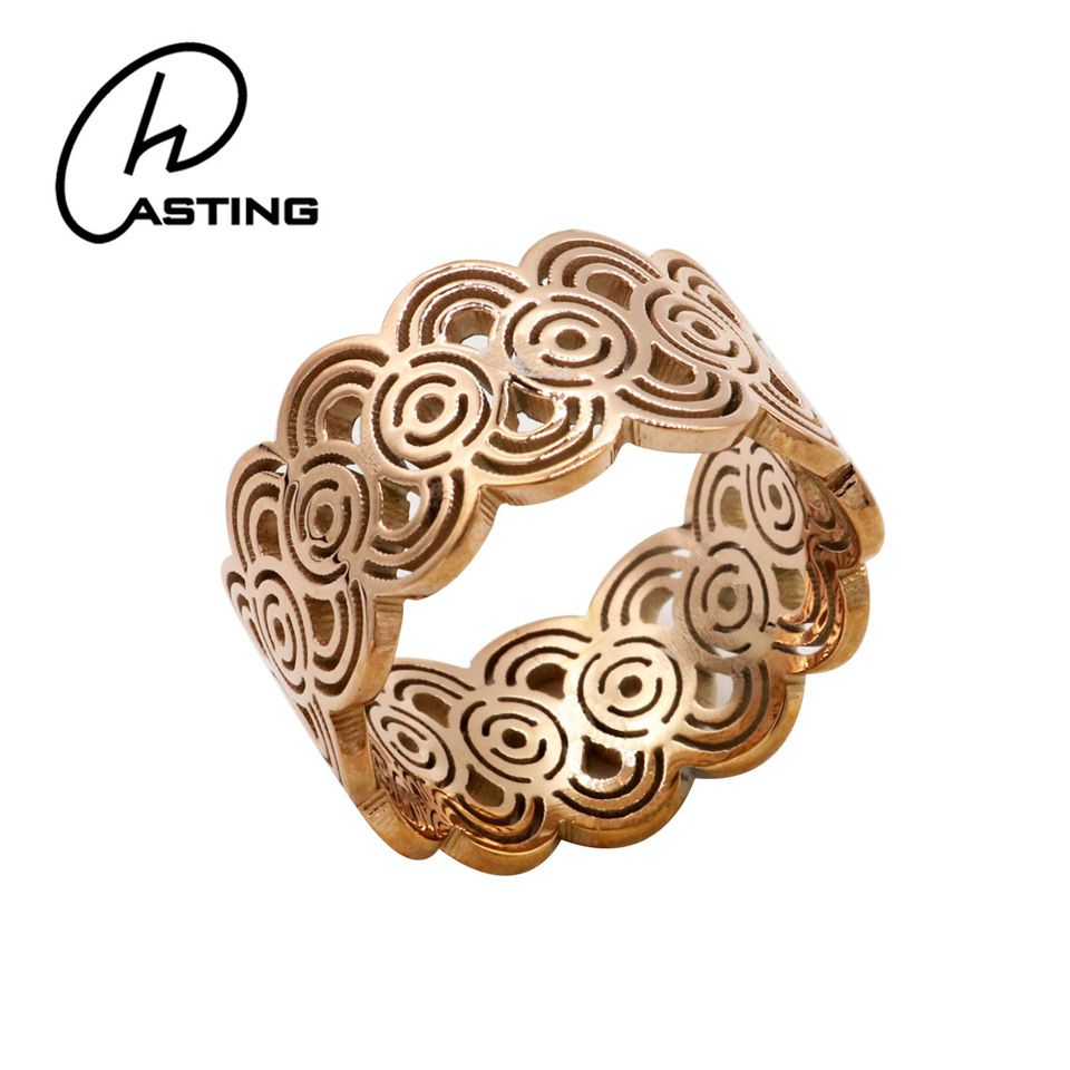 Rose Gold Finger Rings Latest Gold Ring Designs For Girls ...