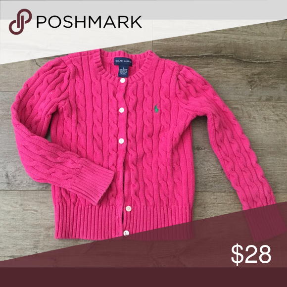 Charming girls sweater size 6 Like new condition Ralph Lauren sweater girls size 6. Ralph Lauren Shirts & Tops Sweaters
