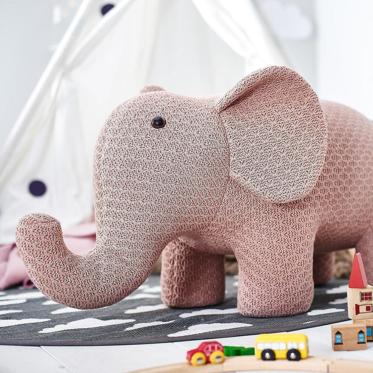 Hocker Elefant 95x34x47cm Altrosahocker Elefant 95x34x47cm Altrosa Altrosa Elefanten Hocker Babyzimmer