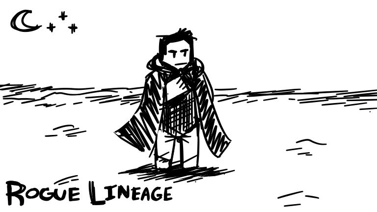 Rogue Lineage - Roblox | meow | Lineage, Rogues, Sketches