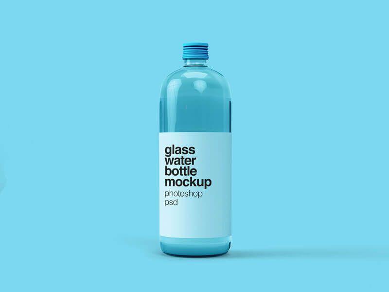 Free Water Bottle Mockups Psd Download Mockup Photoshop Psd Bottle Bottle Mockup Water Bottle Bottle