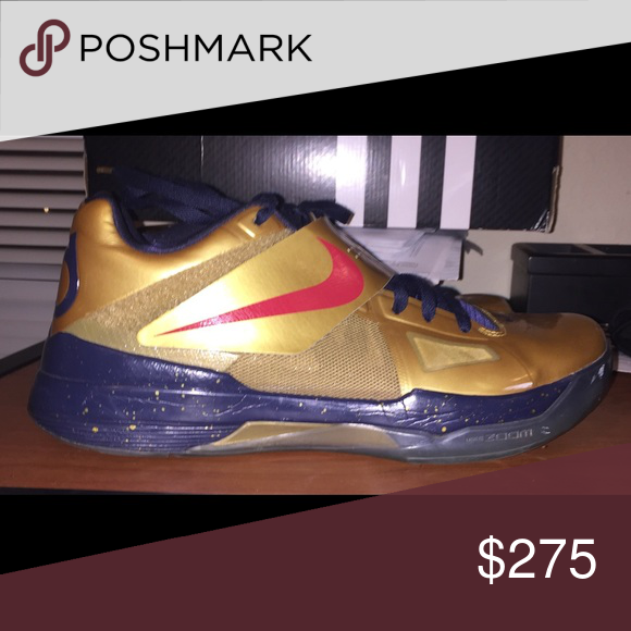 sneakers for cheap bd2ba ff2e2 KD IV 4 gold medal Size 12 Kd 4 gold medal in 10 10 condition Nike Shoes  Sneakers