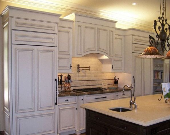 Kitchen Cabinet Crown Molding Ideas Cupboard Painting