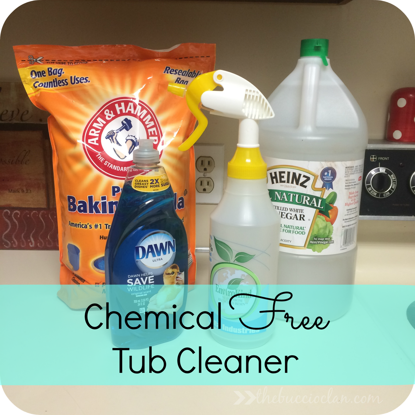 Becoming A Chemical Free Home Tub Cleaner Nicole