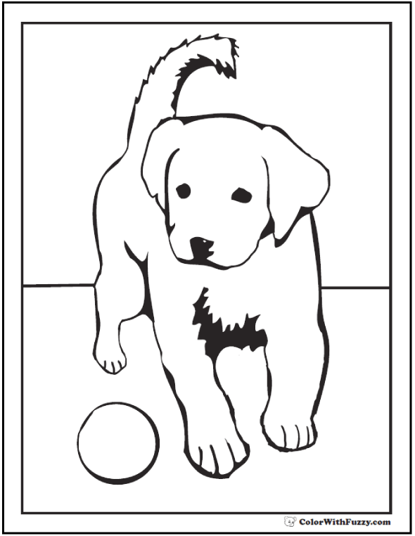 Golden Retriever Puppy Coloring Pages In 2020 Puppy Coloring Pages Dog Coloring Page Coloring Pages