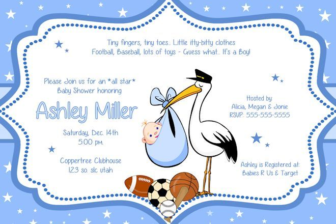 CutiebabesCom Baby Shower Boy Invitations  Babyshower  Baby