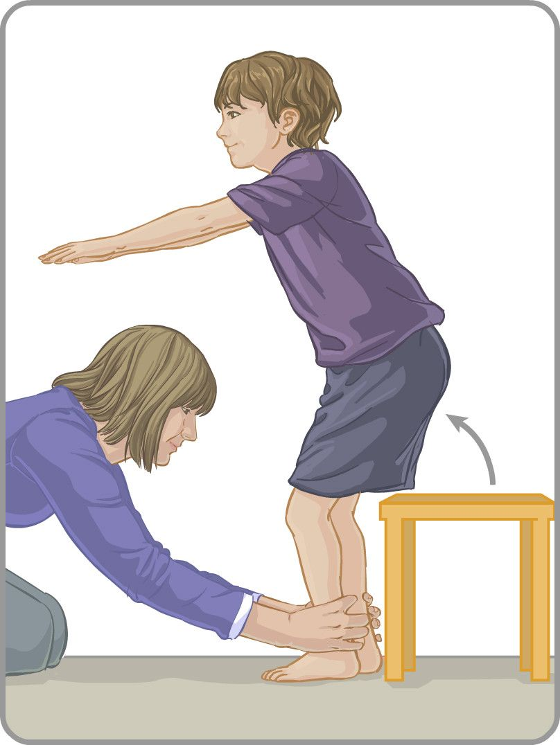 Toe walking excersizes | Pediatric physical therapy ...