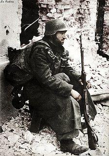German soldier in Stalingrad 1942 | da Za Rodinu