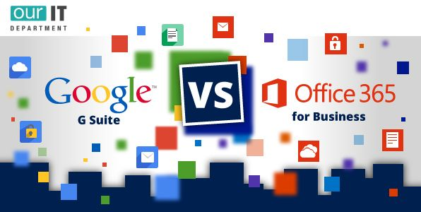 Office 365 vs G Suite Comparison Chart For Business (Infographic - microsoft office versions comparison chart