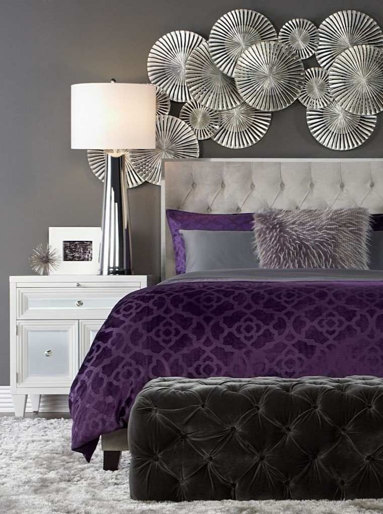 25 Elegante Lila Schlafzimmer Dekoration Ideen Zu Entdecken