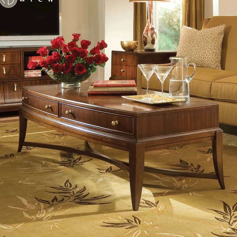 Ad 591 910 American Drew Bob Mackie Home Signature Rectangle Cocktail Table American Drew Coffee Table Rectangle Furniture