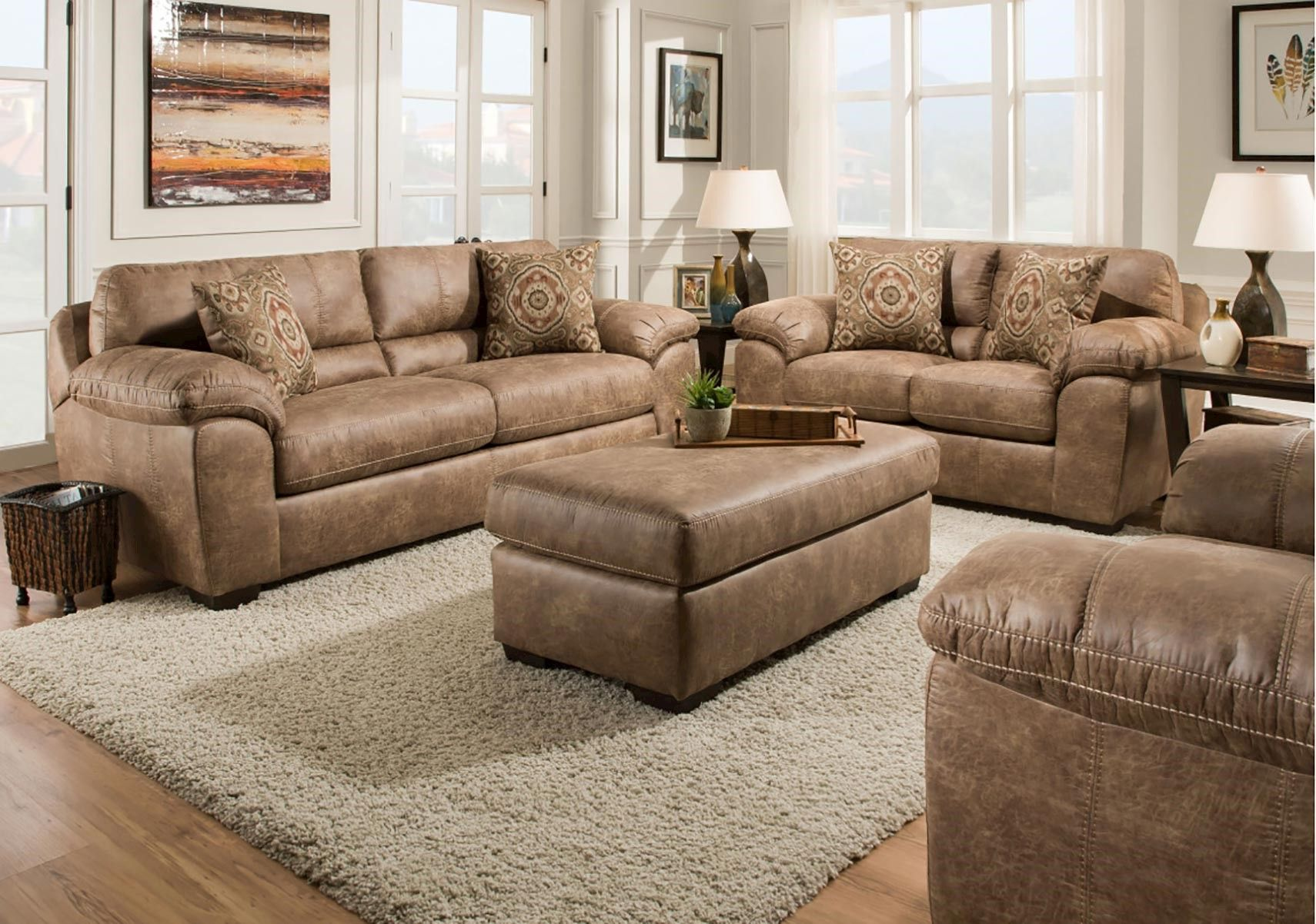 Lacks Santa Fe 2 Pc Living Room Set