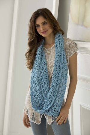 All Season Cowl Free Beginner Knitting Pattern From Lion Brand