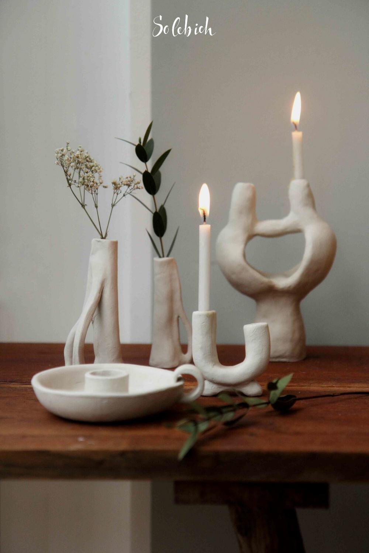 Organisch und weich geformt – 8 Ideen für DIY-Keramik