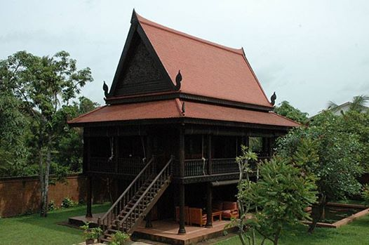 Khmer house in siem reap https www facebook com pages hok sokol architecture 1538207713132284frefts