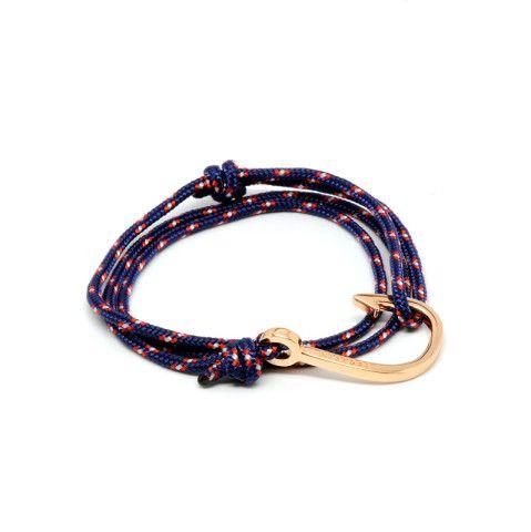 Miansai By Michael Saiger Hooks Rose Gold Hook Fish Braceletbracelet